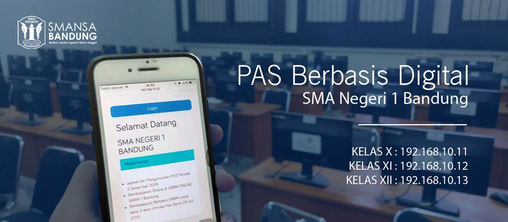 PAS Berbasis Digital SMAN 1 Bandung