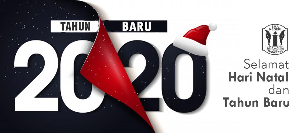 Selamat Hari Natal dan Tahun Baru 2020