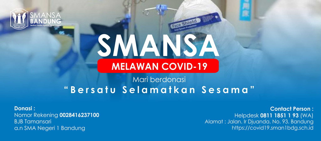 Informasi COVID-19 Lingkungan SMA Negeri 1 Bandung